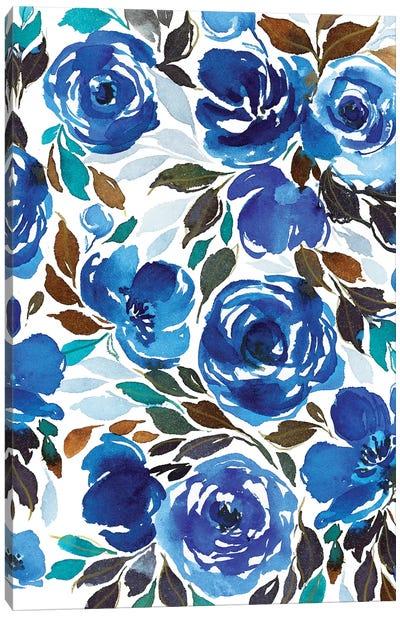 Watercolor Flowers Canvas Art Print