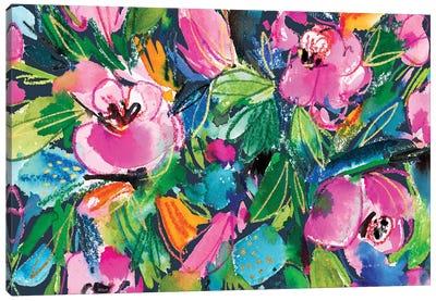Floral Fun I Canvas Art Print