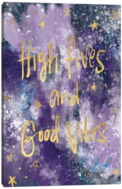 Good Vibes II Canvas Art Print