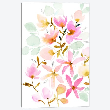 Dreams In Pastel Canvas Print #JTG2} by Joy Ting Canvas Art