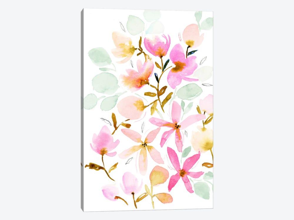 Dreams In Pastel by Joy Ting 1-piece Canvas Print