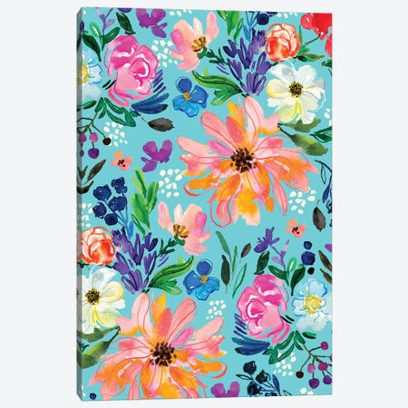 Blooms II Canvas Print #JTG32} by Joy Ting Canvas Wall Art
