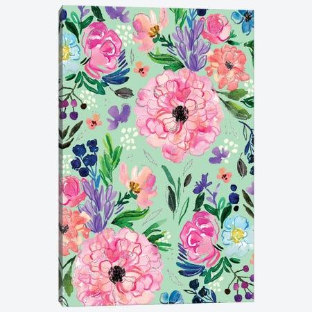 Blooms III Canvas Print #JTG33} by Joy Ting Canvas Art
