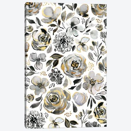 Everyday Blooms Canvas Print #JTG34} by Joy Ting Canvas Art Print