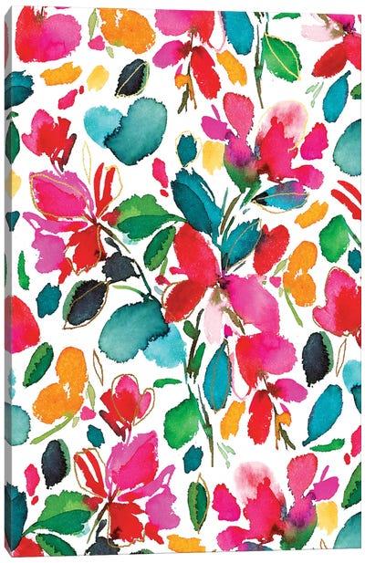 Blooms IV Canvas Art Print