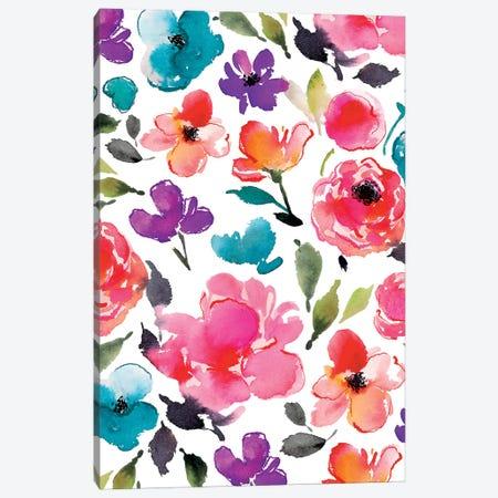 Blooms V Canvas Print #JTG36} by Joy Ting Canvas Art Print