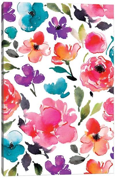 Blooms V Canvas Art Print