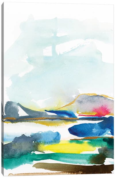 Abstract Landscapes VII Canvas Art Print