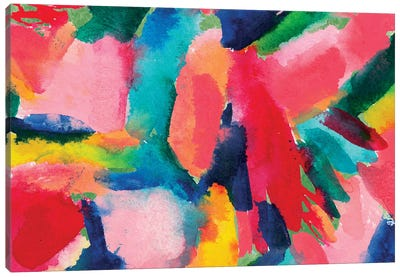 Colorful Home I Canvas Art Print
