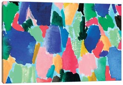 Colorful Home II Canvas Art Print