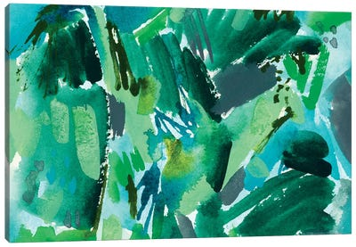 Colorful Home III Canvas Art Print