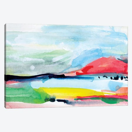 Colorful Home IV Canvas Print #JTG55} by Joy Ting Canvas Print