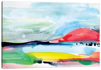 Colorful Home IV Canvas Art Print
