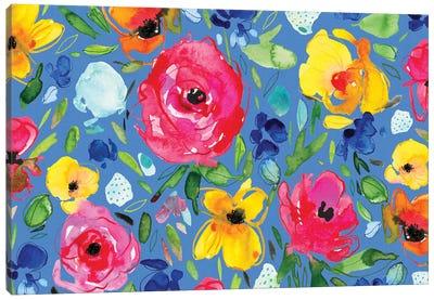 Floral Party I Canvas Art Print
