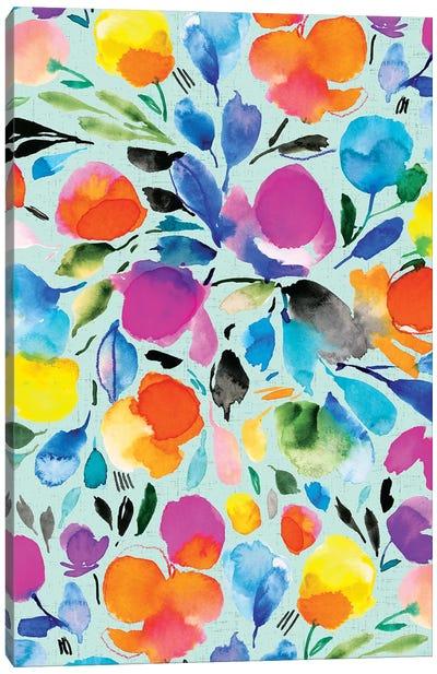 Floral Party II Canvas Art Print