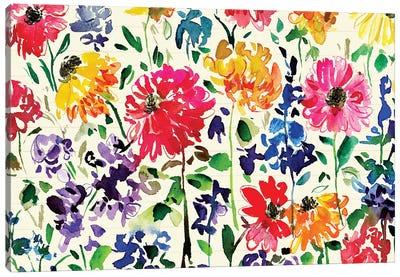 Floral Party IV Canvas Art Print