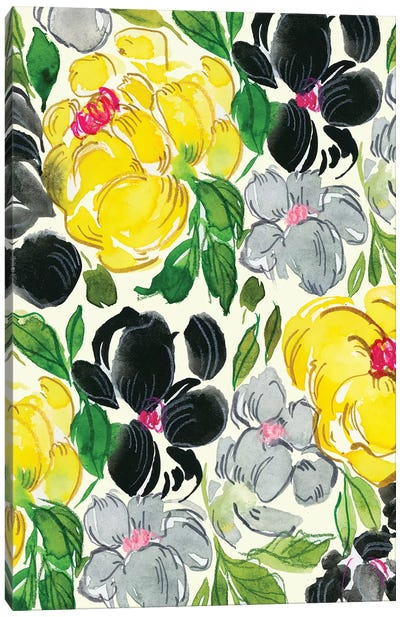 Fancy Florals I Canvas Art Print