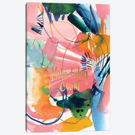 Painterly Inspiration VII Canvas Print #JTG66} by Joy Ting Canvas Wall Art