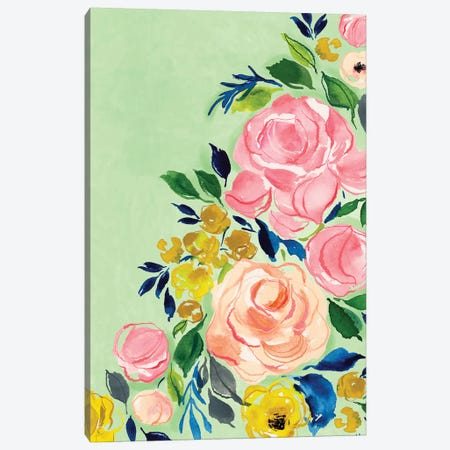 Florals Canvas Print #JTG87} by Joy Ting Canvas Artwork