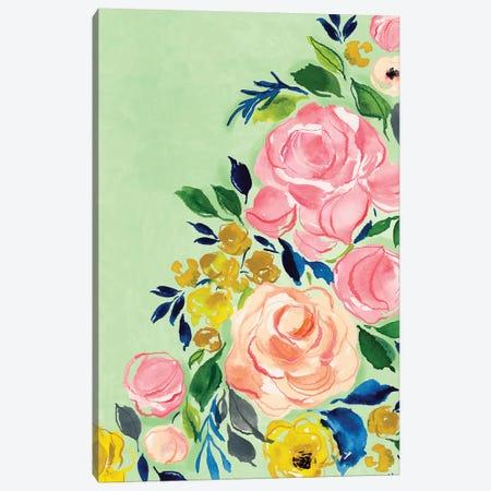 Florals Canvas Print #JTG87} by Joy Ting Canvas Artwork