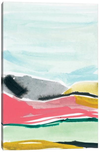 Abstract Landscapes II Canvas Art Print