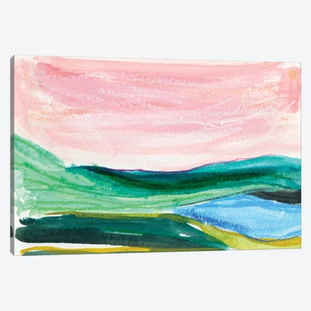 Abstract Landscapes IV Canvas Print #JTG98} by Joy Ting Canvas Artwork