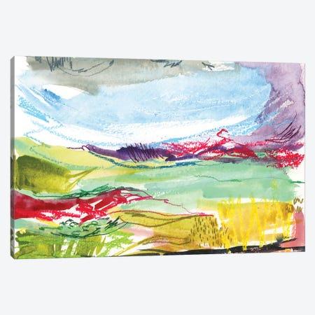 Abstract Landscapes V Canvas Print #JTG99} by Joy Ting Canvas Artwork