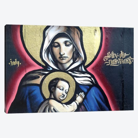 Felix Die Nativitis Canvas Print #JTH11} by Jody Thomas Canvas Print