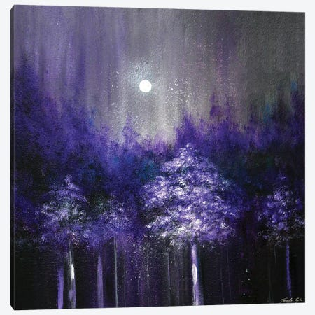 Amethyst Woods Canvas Print #JTL103} by Jennifer Taylor Canvas Wall Art