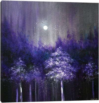 Amethyst Woods Canvas Art Print
