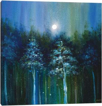 Ethereal Woods Canvas Art Print
