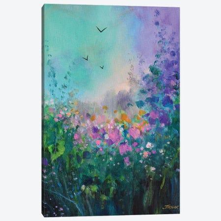 E Canvas Print #JTL108} by Jennifer Taylor Canvas Wall Art