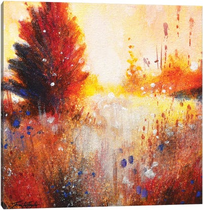 In The Golden Hour Canvas Art Print