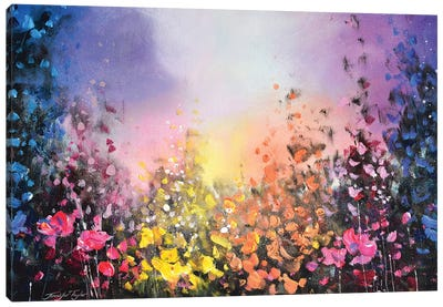 Colours Of The Night Canvas Art Print
