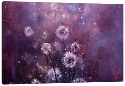 Gentle Dandelions Canvas Art Print