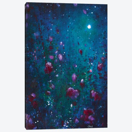 Moon Garden Canvas Print #JTL18} by Jennifer Taylor Art Print