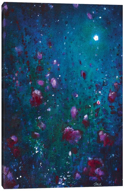 Moon Garden Canvas Art Print
