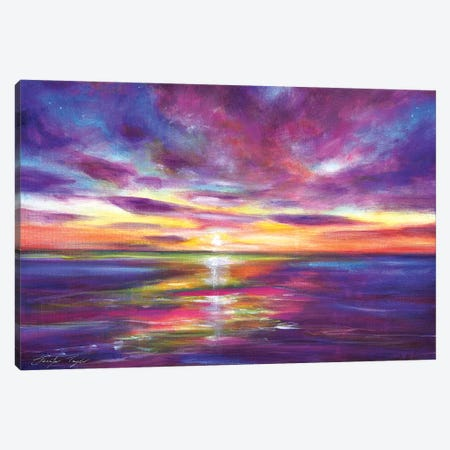 Radient Seas Canvas Print #JTL26} by Jennifer Taylor Canvas Print