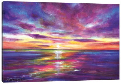 Radient Seas Canvas Art Print