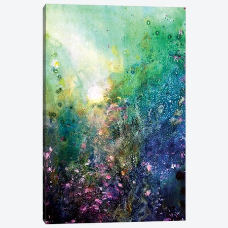 The Secret Garden IV Canvas Print #JTL35} by Jennifer Taylor Canvas Wall Art