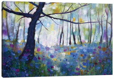 Way Of The Woods IV Canvas Art Print