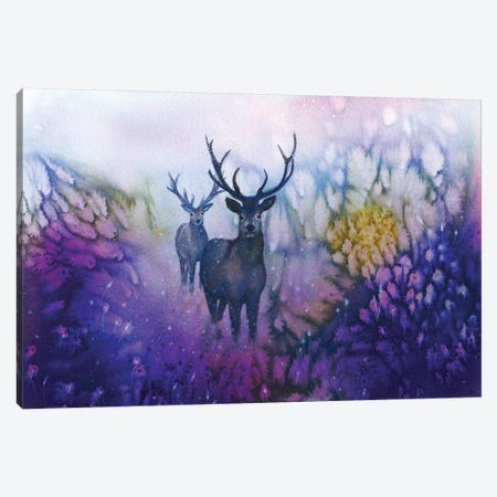 Woodland Watchers Canvas Print #JTL44} by Jennifer Taylor Canvas Print