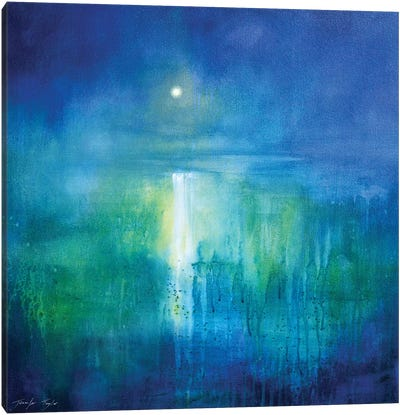 Across The Sea Canvas Art Print