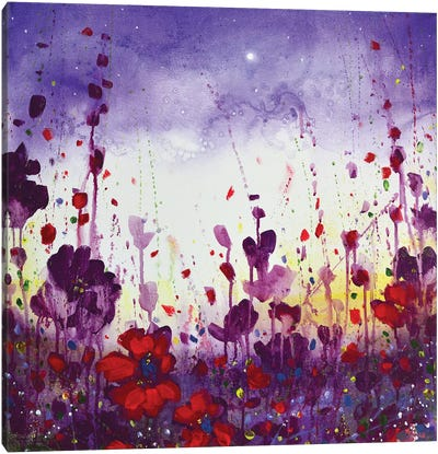 Evening Colour Canvas Art Print