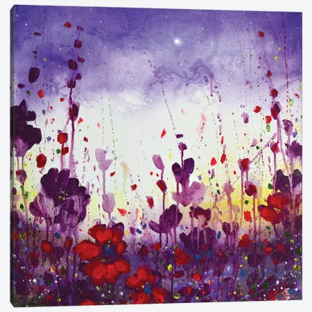 Evening Colour Canvas Print #JTL51} by Jennifer Taylor Art Print