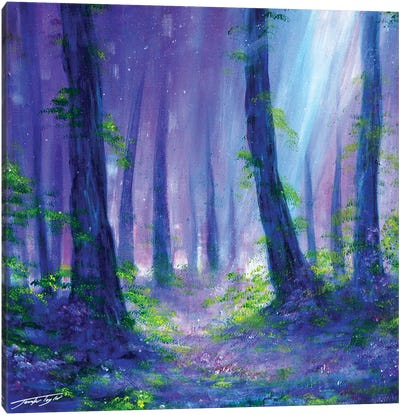 A Woodland Dream Canvas Art Print