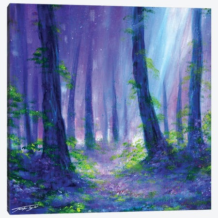 A Woodland Dream Canvas Print #JTL64} by Jennifer Taylor Art Print