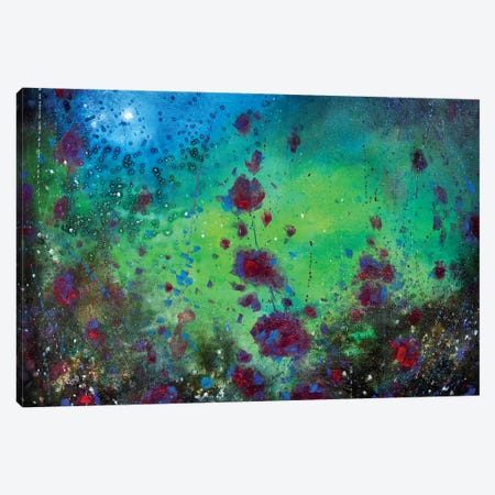 All The World Is A Garden 3-Piece Canvas #JTL6} by Jennifer Taylor Canvas Art