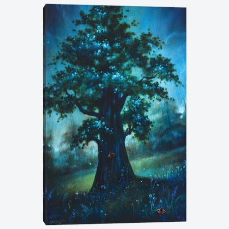 The Sacred Tree Canvas Print #JTL79} by Jennifer Taylor Art Print