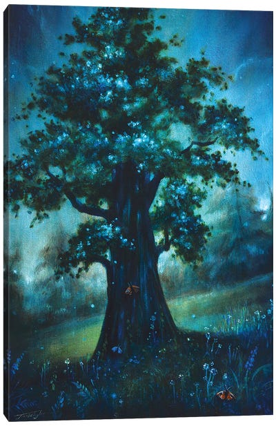 The Sacred Tree Canvas Art Print